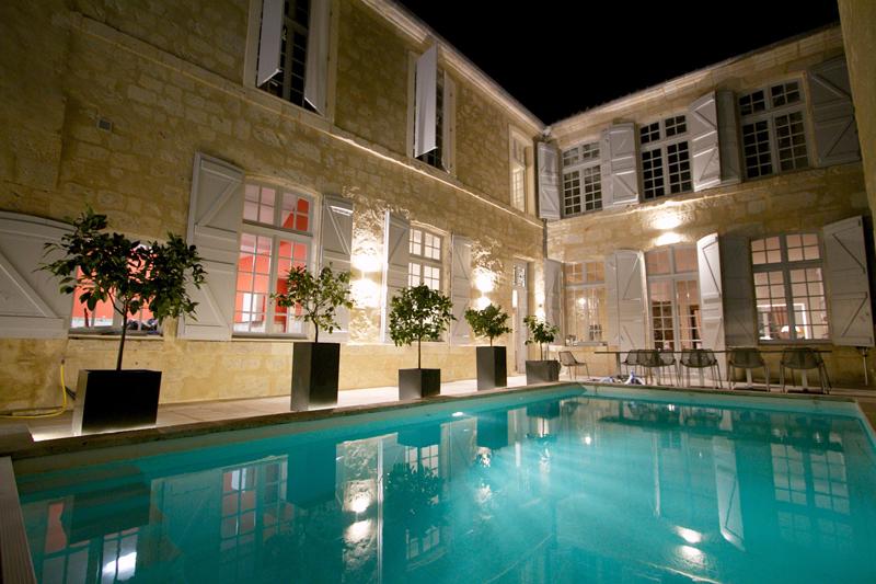 Htel particulier Guilhon chambres dhtes de luxe dans
