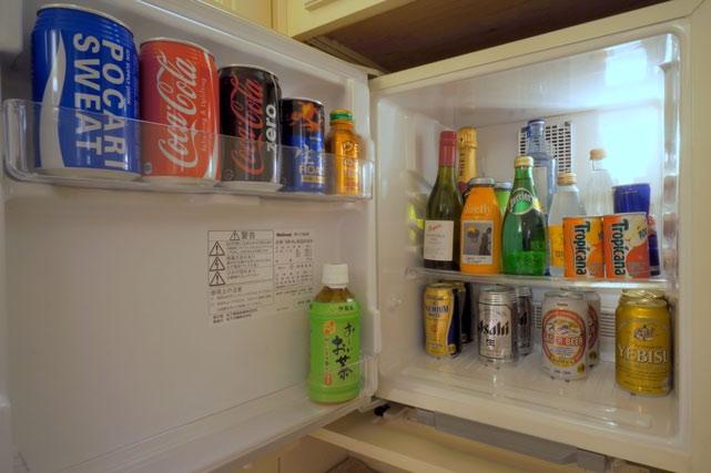 ザ・リッツ・カールトン大阪_クラブスイートの冷蔵庫