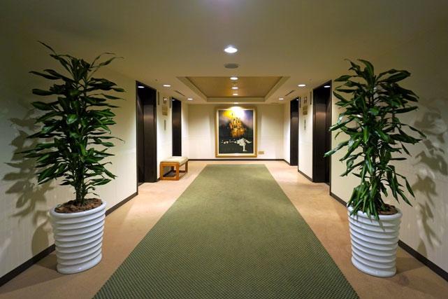 ルネッサンスサッポロホテル_客室階エレベーターホール