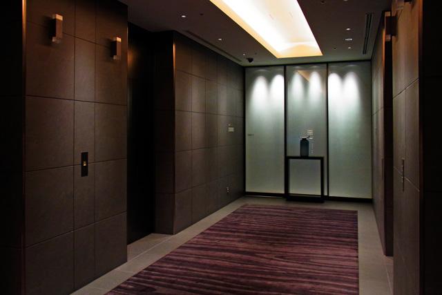 キャピトル東急_エレベーターホール