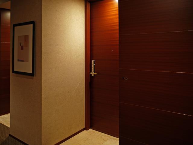 グランドハイアット東京_客室ドア