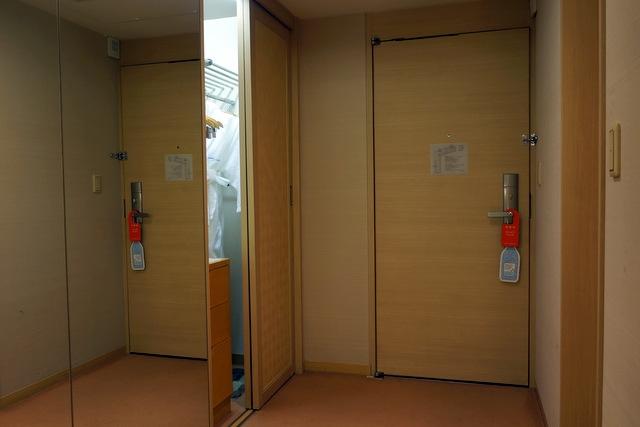 ホテルオークラ東京_クローゼット