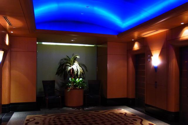 横浜ベイホテル東急_エレベーターホール