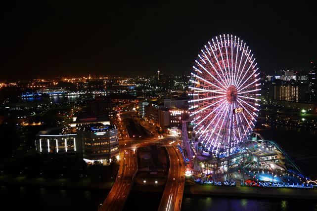 横浜ベイホテル東急_夜景