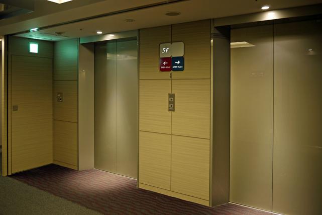 羽田エクセル東急_エレベーターホール