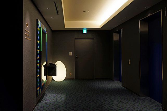 ゲートホテル雷門_エレベーターホール