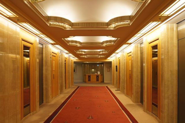 帝国ホテル東京_エレベーターホール