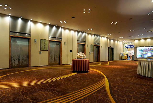 札幌全日空ホテル_エレベーターホール