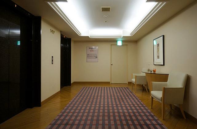 オークラ札幌_エレベーターホール