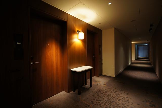 パレスホテル東京_廊下