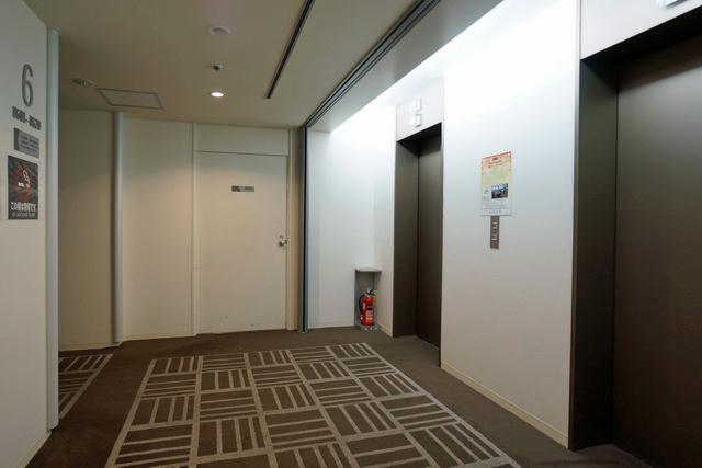 第一ホテルアネックス_エレベーターホール