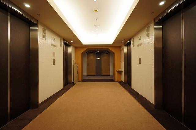 センチュリーロイヤル_エレベーターホール