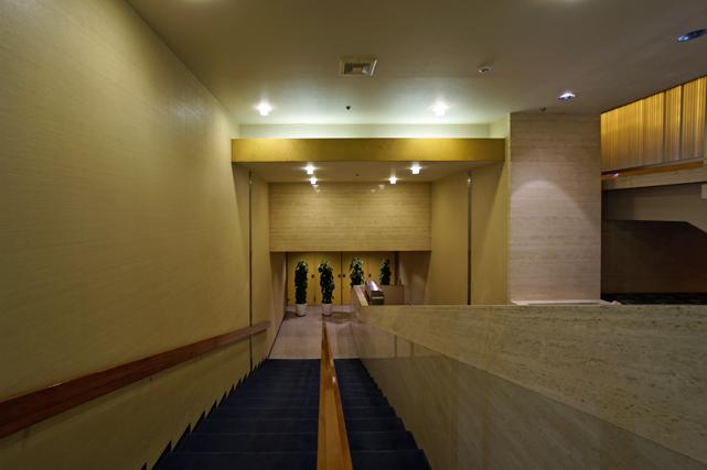 ホテルオークラ東京_本館接続通路