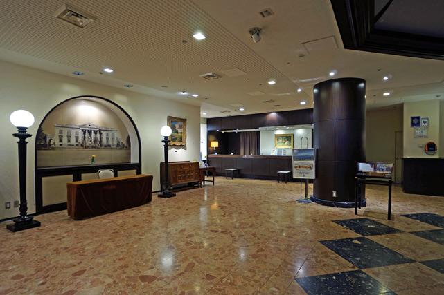 ホテルモントレ横浜_ロビー