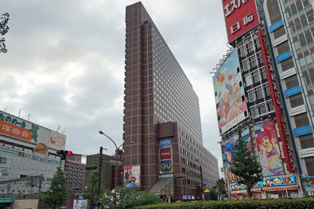 新宿プリンスホテル宿泊記「ツインルームA」