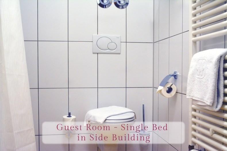 Gästezimmer - Einzelbett, Bad