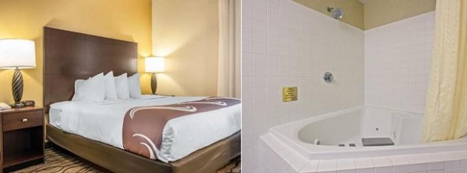 Hot Tub suite in Quality Inn Chester I-75 Cincinnati hotel