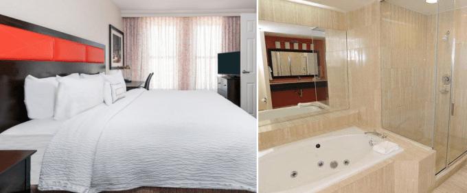 Room with Whirlpool tub in Fairfield Inn & Suites by Marriott Atlanta Downtown hotel