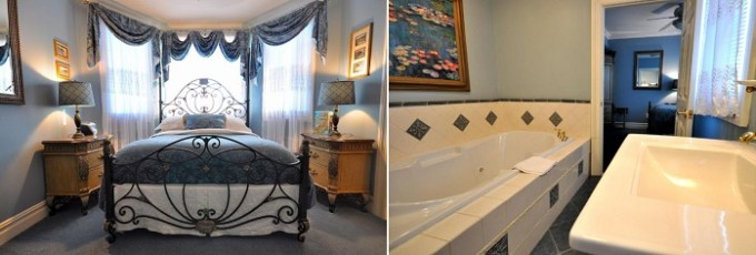 Room with a whirlpool tub in Atlantis Inn Hotel, Ocean City, NJ hotel