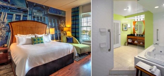 Hot tub suite in Hotel Indigo Jacksonville-Deerwood Park, Florida
