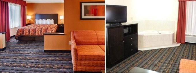 Suite with a whirlpool tub in Best Western Kenosha Inn, Tulsa, OK