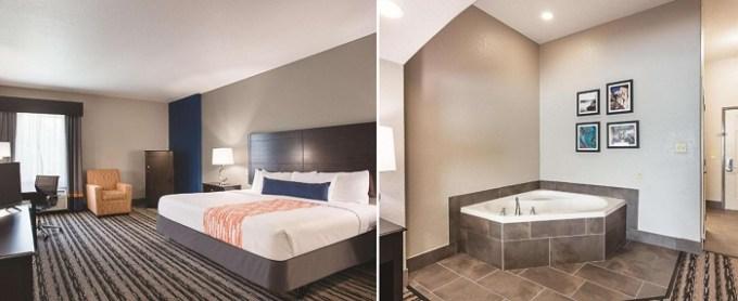 Room with a whirlpool tub in La Quinta by Wyndham San Antonio Northwest hotel, TX