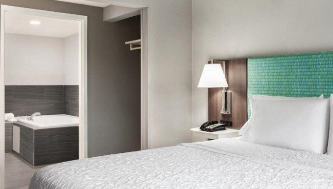 Whirlpool room in Hampton by Hilton Oklahoma City I-40 East- Tinker AFB hotel