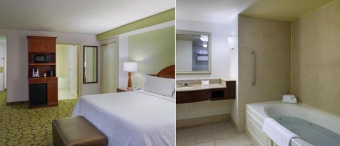 Hot Tub suite in Hilton Garden Inn Hartford South-Glastonbury, Connecticut