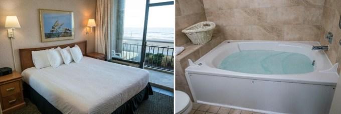 Whirlpool suite in Four Sails Resort, Virginia Beach, VA