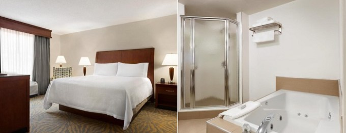 Whirlpool suite in Hilton Garden Inn Shelton, CT