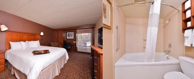 Whirlpool suite in Hampton Inn Pittsburgh McKnight Rd Hotel, PA