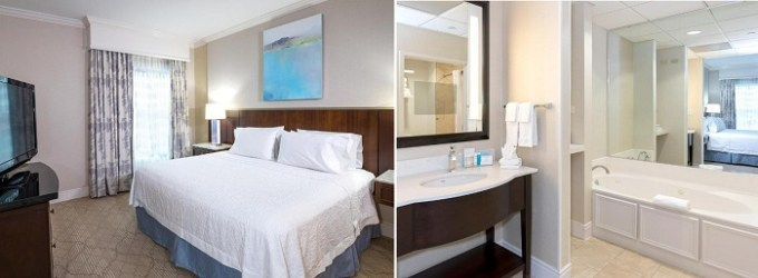 Hot Tub suite in Hampton Inn & Suites-South Park at Phillips Place, Charlotte, North Carolina