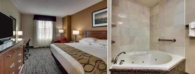 Room with a hot tub in Drury Inn & Suites Charlotte Northlake, NC