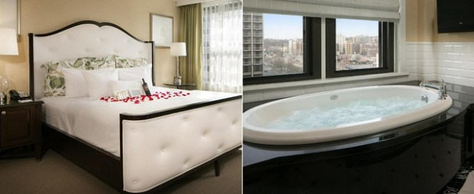 Suite with a hot tub in The Raphael Hotel, Autograph Collection, Kansas City, MO