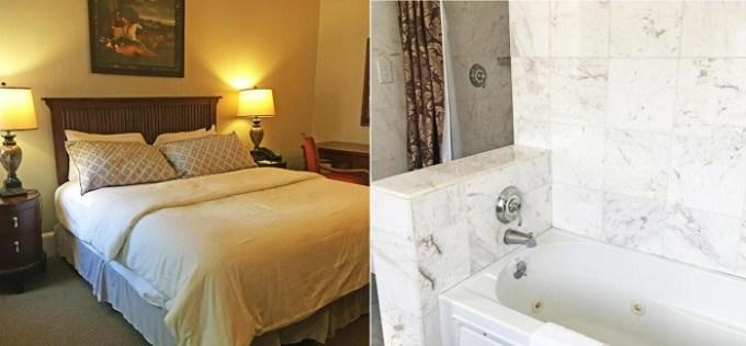 Hot tub suite in Morris House Hotel, Philadelphia, PA