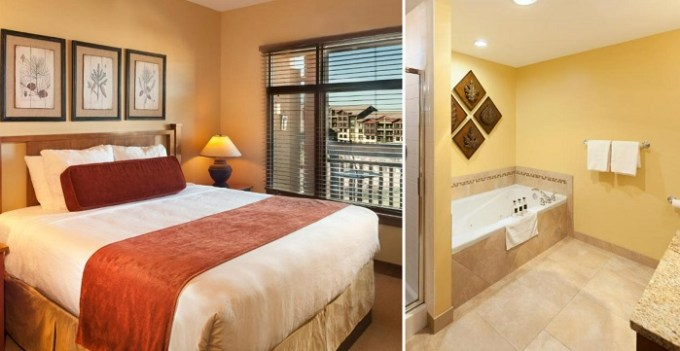 Suite with a jetted tub in Sundial Lodge Park City - Canyons Village, Utah