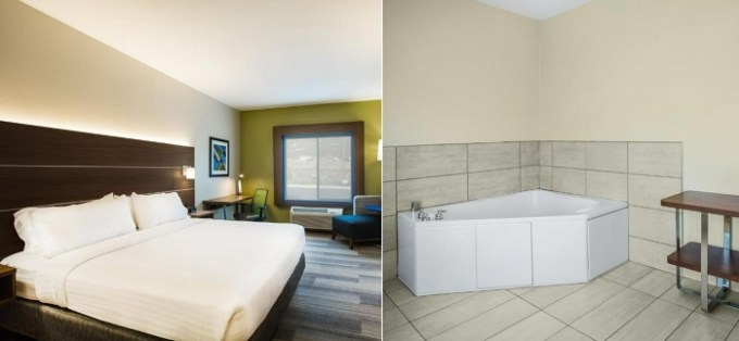 Suite with a whirlpool tub in Holiday Inn Express Hotel & Suites Cedar City, UT