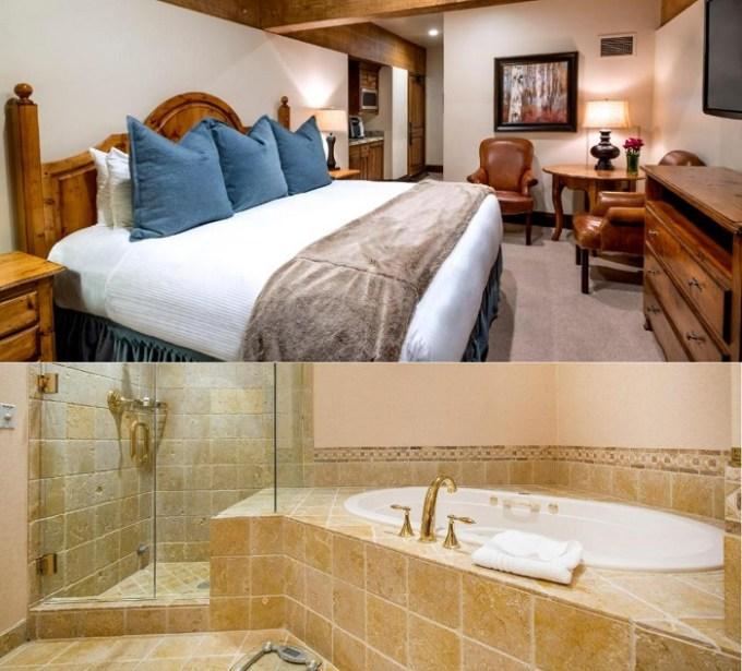 Suite with a whirlpool tub in Stein Eriksen Lodge Deer Valley, Park City, Utah