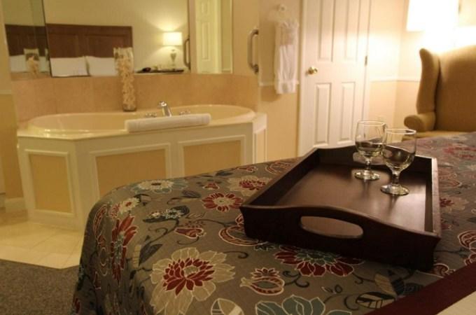 Whirlpool Suite in InnSeason Resorts The Falls at Ogunquit, Maine