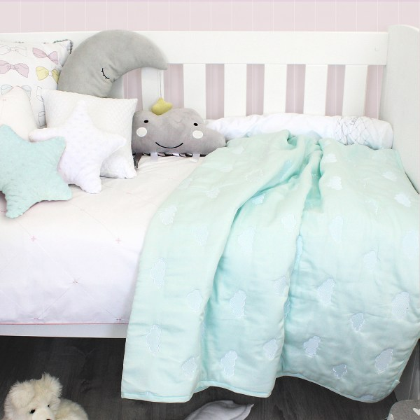 Sheraton 300TC Mint Quilted Cot Comforter