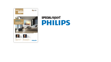 Cover of the Philips SPECIALreport made by Cleverdis