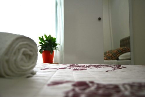 Rooms at Hotel Arberia