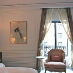 Floral Upholstered Chair Roll Easy Transport Hotel Chic | French Glamour In Nyc: The Dior Suite At St. Regis