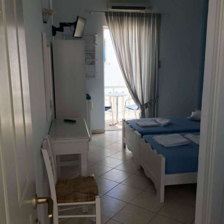 Twin room Antiparos Hotel Chrisoula