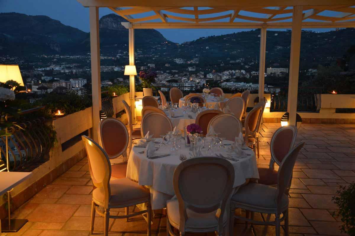 Matrimoni ed eventi speciali  Hotel Cristina Sorrento