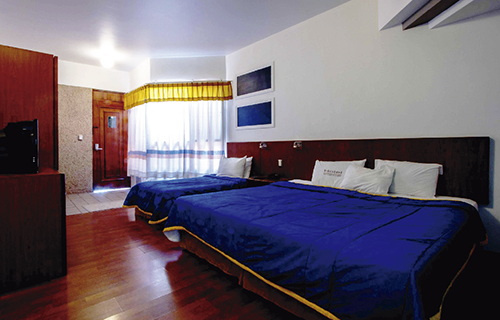 habitación doble hotel en Oaxaca
