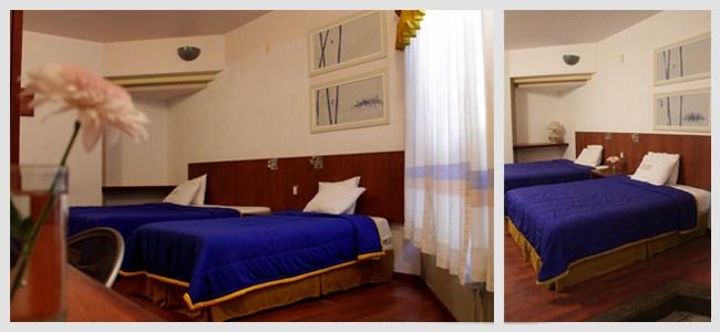 Las habitaciones cuentan con amplio espacio