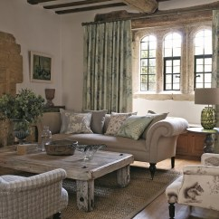 Modern Country Living Room Designs Center Tables Curtain Focus: Sanderson's Woodland Walk Fabric Range