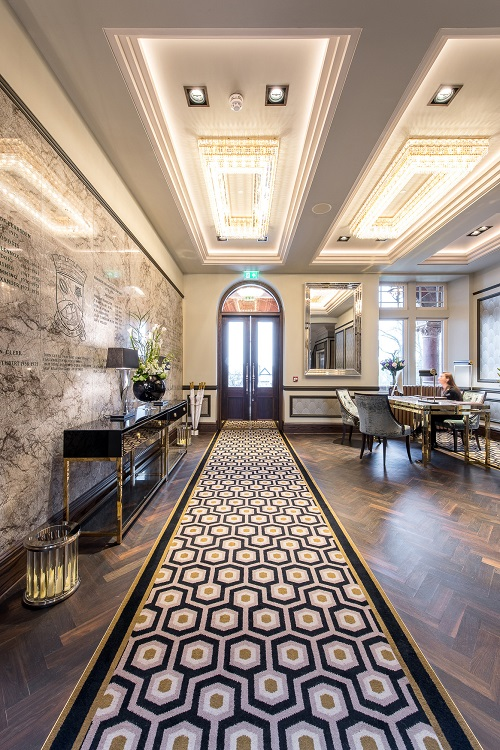 A masterclass in luxury carpet by Wilton at Boclair House