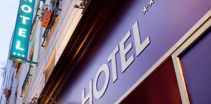 imagem de fachada de hotel
